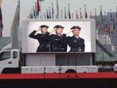 SPECIAL APPLICATION DISPLAY FOR TRUCK